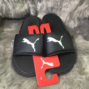 new Puma men's slippers